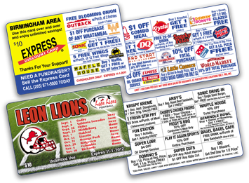 Express Discount Cards
